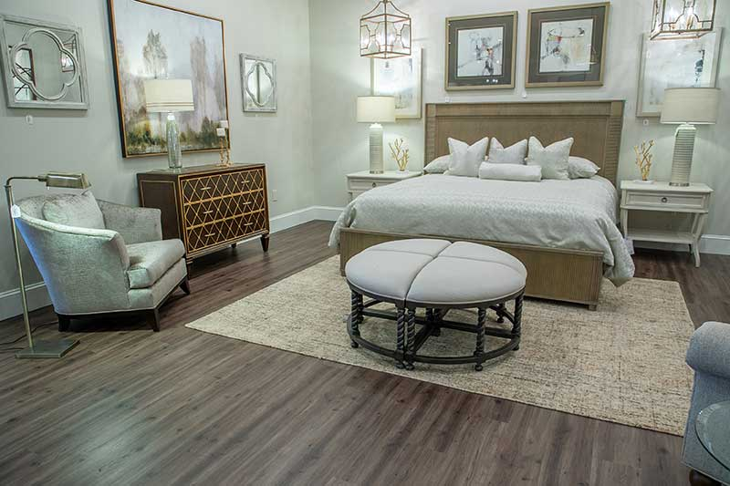 Art Home Furnishings bed in furniture store in Forsyth, GA