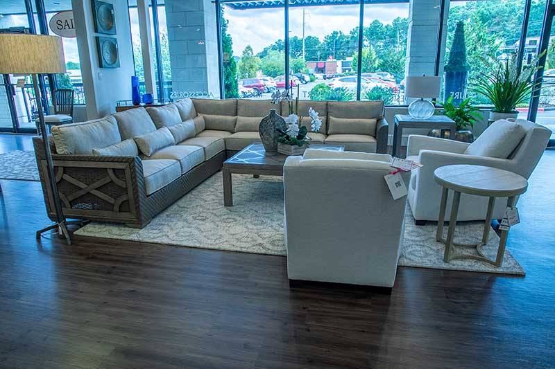 Art Home Furnishings sectional sofa in furniture store in Duluth, GA